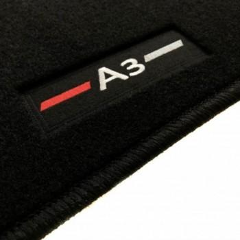 Tapis Audi A3 8PA Sportback (2004 - 2012) logo sur mesure