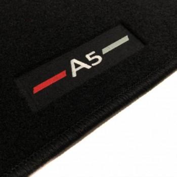 Tapis Audi A5 F5A Sportback (2017 - actualité) logo sur mesure