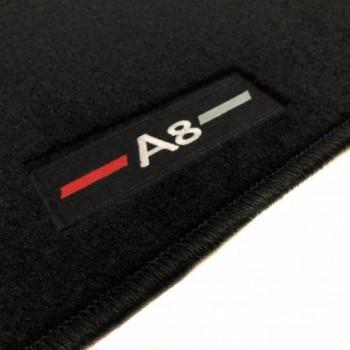 Tapis Audi A8 D3/4E (2003-2010) logo sur mesure