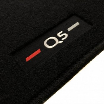 Tapis Audi Q5 8R (2008 - 2016) logo sur mesure