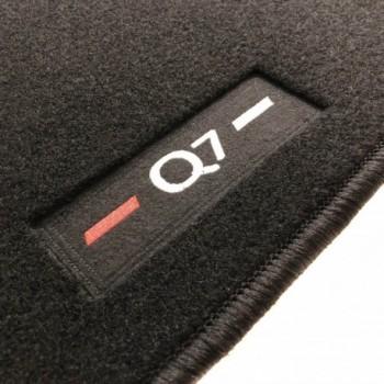 Tapis Audi Q7 4M 7 sièges (2015 - actualité) logo sur mesure