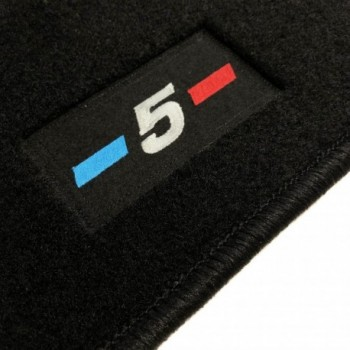 Tapis BMW Série 5 F10 Restyling Berline (2013 - 2017) logo sur mesure