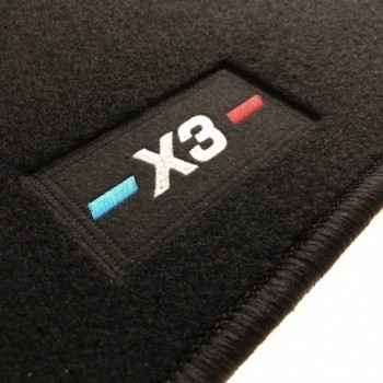 Tapis BMW X3 E83 (2004 - 2010) logo sur mesure