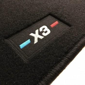 Tapis BMW X3 G01 (2017 - actualité) logo sur mesure