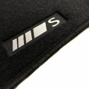 Tapis Mercedes Classe S A217 Cabriolet (2014 - actualité) logo sur mesure