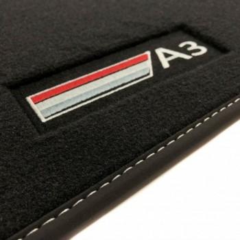Tapis Audi A3 8PA Sportback (2004 - 2012) Velour logo