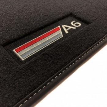 Tapis Audi A6 C6 Avant (2004 - 2008) Velour logo