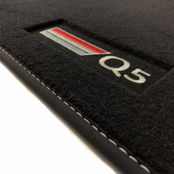 Tapis Audi Q5 FY (2017 - actualité) Velour logo