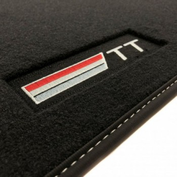 Tapis Audi TT 8J (2006 - 2014) Velour logo