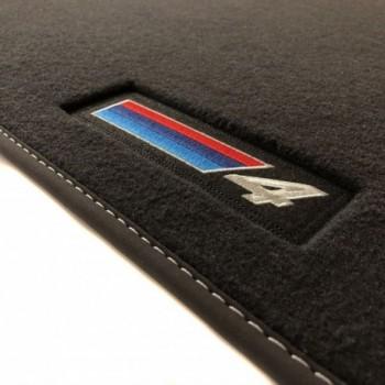 Tapis BMW Série 4 F33 Cabriolet (2014 - actualité) Velour M Competition