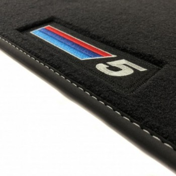 Tapis BMW Série 5 F10 Restyling Berline (2013 - 2017) Velour M Competition