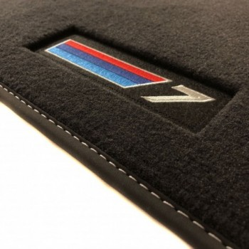 Tapis BMW Série 7 E66 long (2002-2008) Velour M-Competition