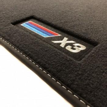 Tapis BMW X3 G01 (2017 - actualité) Velour M Competition