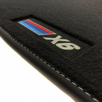 Tapis BMW X6 F16 (2014 - 2018) Velour M Competition