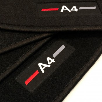 Tapis Audi A4 B6 Avant (2001 - 2004) logo sur mesure