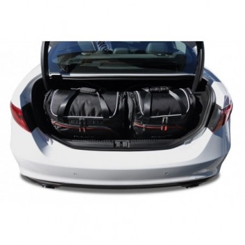 Kit de valises sur mesure pour Alfa Romeo Giulia
