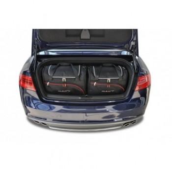Kit de valises sur mesure pour Audi A5 8F7 Cabriolet (2009 - 2017)