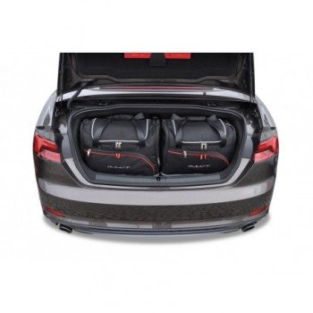 Kit de valises sur mesure pour Audi A5 F57 Cabriolet (2017 - actualité)