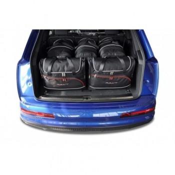 Kit de valises sur mesure pour Audi Q7 4M 5 sièges (2015 - actualité)