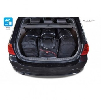 Kit de valises sur mesure pour BMW Série 3 E91 Break (2005 - 2012)