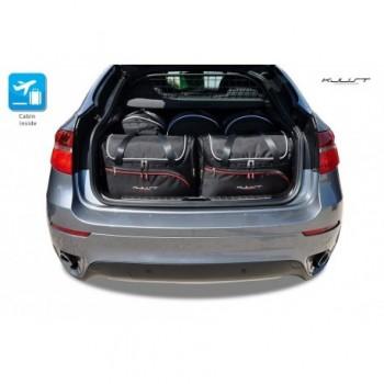 Kit de valises sur mesure pour BMW X6 E71 (2008 - 2014)