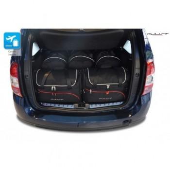 Kit de valises sur mesure pour Dacia Duster (2014 - 2017)