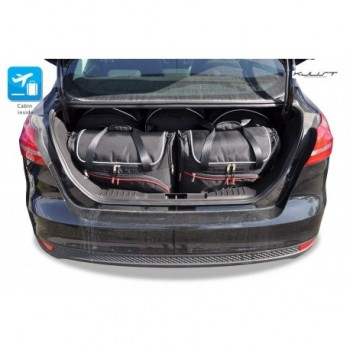 Kit de valises sur mesure pour Ford Focus MK3 Berline (2011-2018)