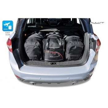 Kit de valises sur mesure pour Ford Kuga (2008 - 2011)