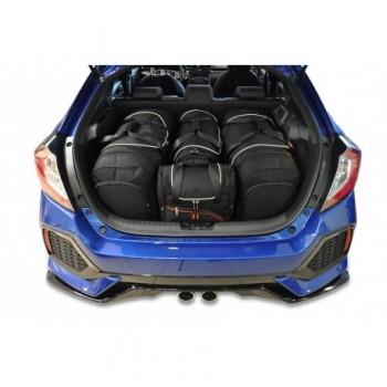 Kit de valises sur mesure pour Honda Civic (2017 - actualité)