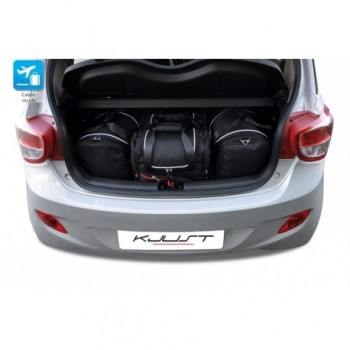 Kit de valises sur mesure pour Hyundai i10 (2013 - actualité)