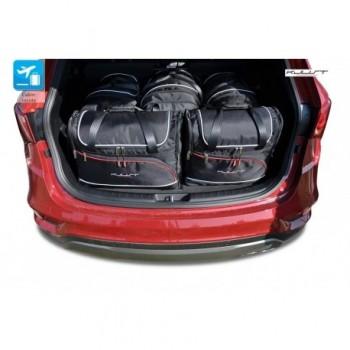Kit de valises sur mesure pour Hyundai Santa Fé 5 sièges (2012 - 2018)