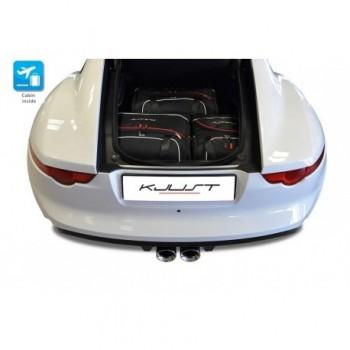 Kit de valises sur mesure pour Jaguar F-Type