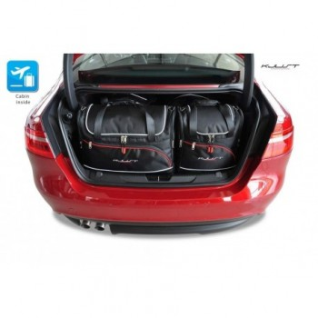 Kit de valises sur mesure pour Jaguar XE