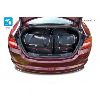 Kit de valises sur mesure pour Jaguar XF (2008 - 2015)