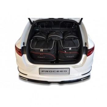 Kit de valises sur mesure pour Kia Pro Ceed (2019 - actualité)