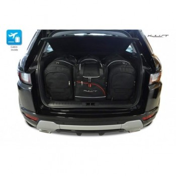 Kit de valises sur mesure pour Land Rover Range Rover Evoque (2011 - 2015)