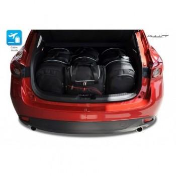Kit de valises sur mesure pour Mazda 3 (2013 - 2017)