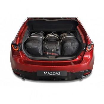 Kit de valises sur mesure pour Mazda 3 (2017 - 2019)
