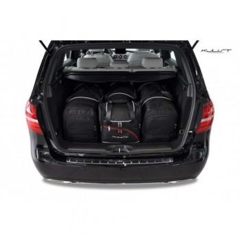Kit de valises sur mesure pour Mercedes Classe-B W246 (2011 - 2018)