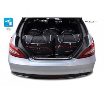 Kit de valises sur mesure pour Mercedes CLS X218 Restyling Break (2014 - actualité)
