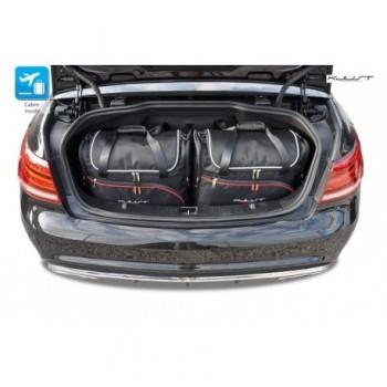Kit de valises sur mesure pour Mercedes Classe-E A207 Restyling Cabriolet (2013 - 2017)