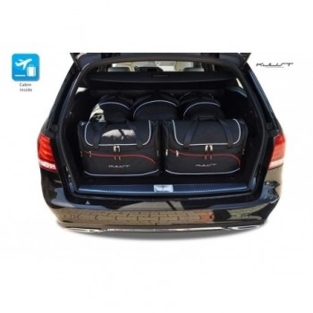 Kit de valises sur mesure pour Mercedes Classe-E S212 Restyling Break (2013 - 2016)