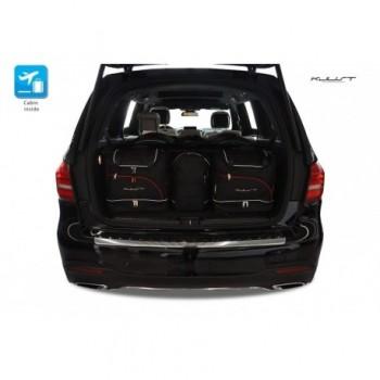 Kit de valises sur mesure pour Mercedes GLS X166 5 sièges (2016 - actualité)