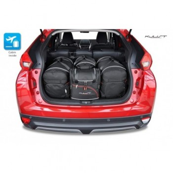 Kit de valises sur mesure pour Mitsubishi Eclipse Cross