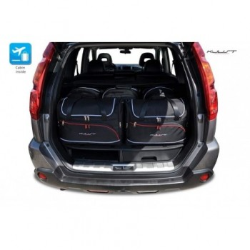 Kit de valises sur mesure pour Nissan X-Trail (2007 - 2014)