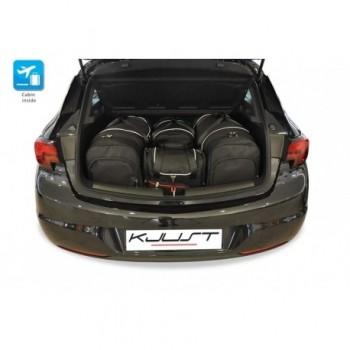 Kit de valises sur mesure pour Opel Astra K 3 ou 5 portes (2015 - actualité)