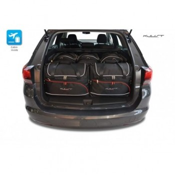 Kit de valises sur mesure pour Opel Astra K Sports Tourer (2015 - actualité)