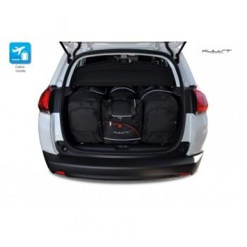 Kit de valises sur mesure pour Peugeot 2008 (2013 - 2016)