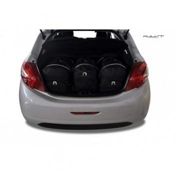 Kit de valises sur mesure pour Peugeot 208 (2012-2019)