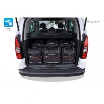 Kit de valises sur mesure pour Peugeot Partner (2008 - 2018)